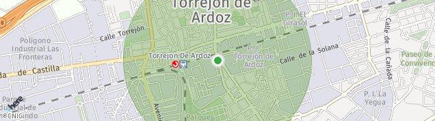 Mapa Torrejón de Ardoz
