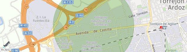 Mapa Poligono Industrial San Fernando