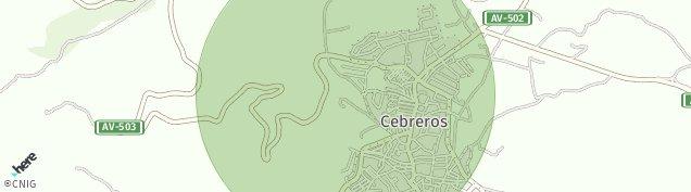 Mapa Cebreros