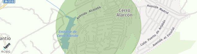 Mapa Navalagamella