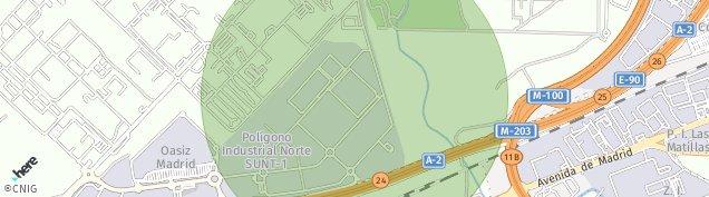 Mapa Base Aerea Conjunta Torrejon