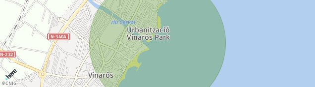 Mapa Vinaros