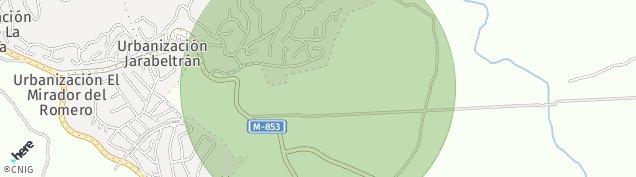 Mapa Valdemorillo