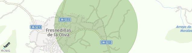 Mapa Fresnedillas de la Oliva