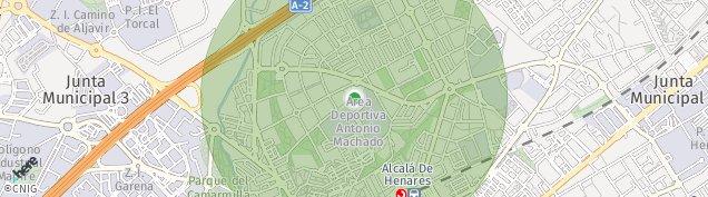 Mapa Alcalá de Henares