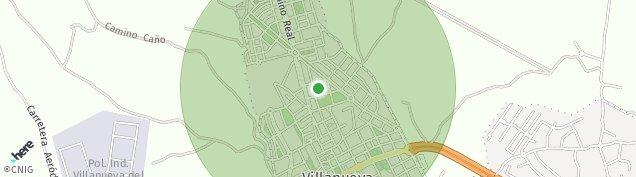 Mapa Villanueva del Pardillo