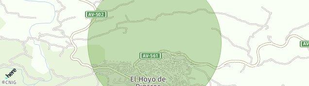 Mapa El Hoyo de Pinares