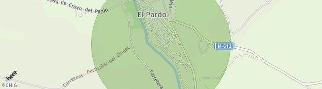 Mapa El Pardo