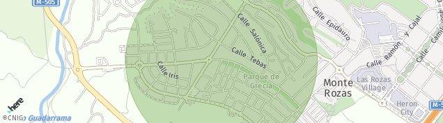 Mapa Molino de La Hoz