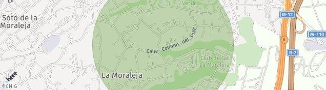 Mapa La Moraleja