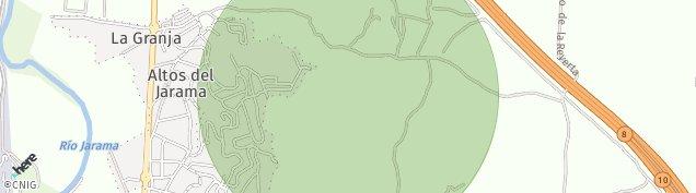 Mapa Paracuellos de Jarama
