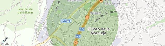 Mapa Soto de La Moraleja