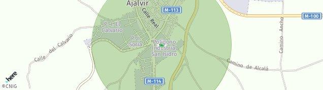 Mapa Ajalvir