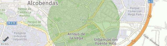 Mapa Alcobendas