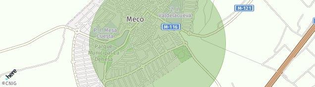 Mapa Meco