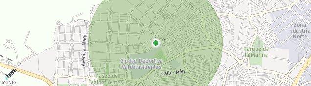 Mapa San Sebastián de Los Reyes