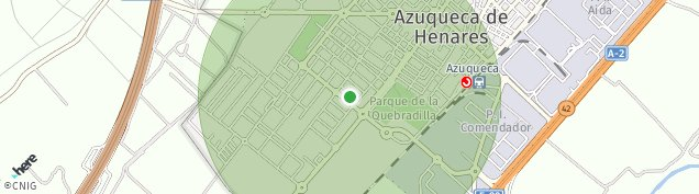 Mapa Azuqueca de Henares