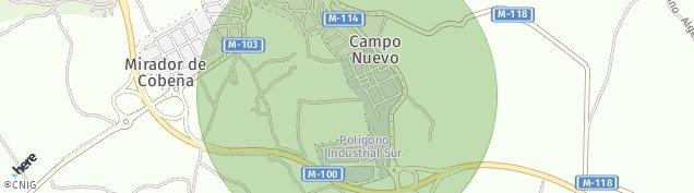 Mapa Cobeña