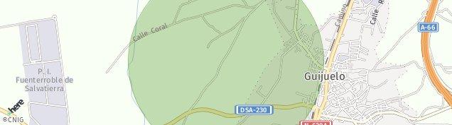 Mapa Guijuelo