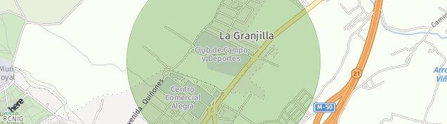 Mapa Urbanizacion La Granjilla