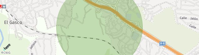 Mapa Urbanizacion Los Jarales