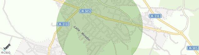 Mapa Galapagar