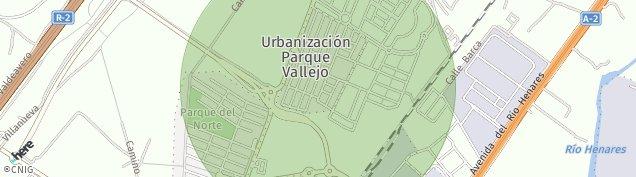 Mapa Urbanizacion Eusebio Centenera