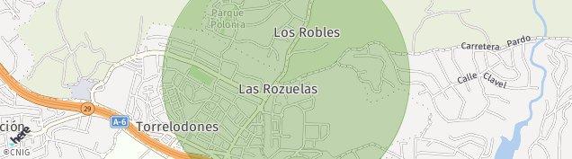 Mapa Torrelodones