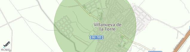 Mapa Villanueva de la Torre