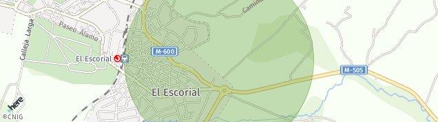 Mapa El Escorial