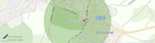 Mapa San Lorenzo de El Escorial