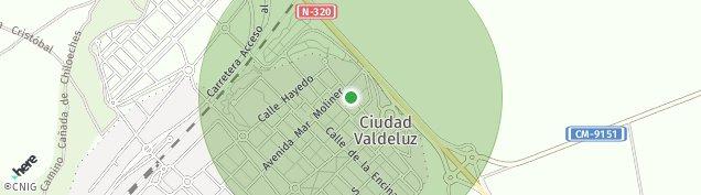 Mapa Ciudad Residencial El Clavin