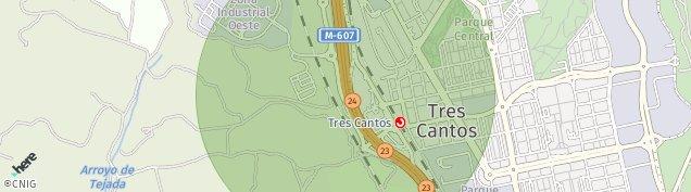 Mapa Tres Cantos