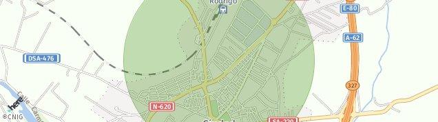Mapa Ciudad Rodrigo