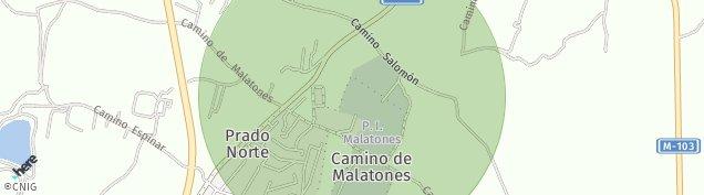 Mapa Ciudad Jardin Valderrey