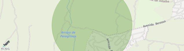 Mapa Urbanizacion Ciudad Residencial La Berzosa