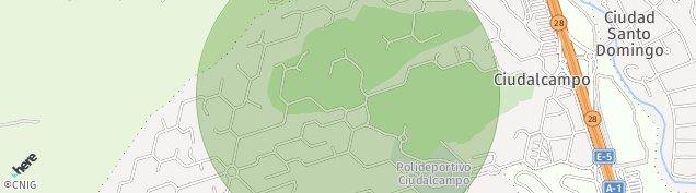 Mapa Ciudalcampo