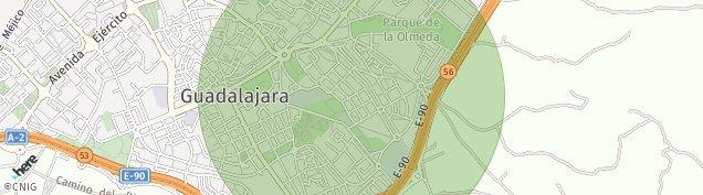 Mapa Guadalajara