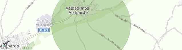 Mapa Valdeolmos