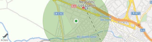 Mapa Los Negrales
