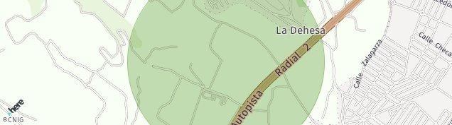 Mapa Cabanillas del Campo