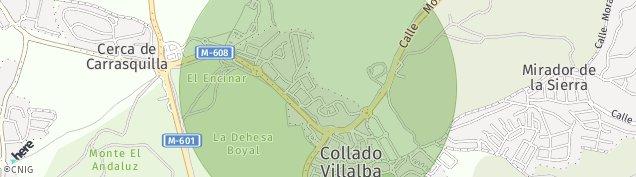 Mapa Valdencina
