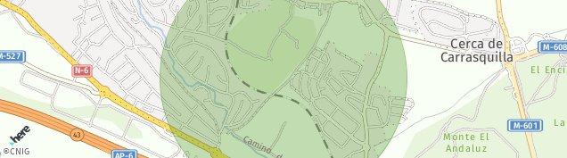 Mapa Alpedrete