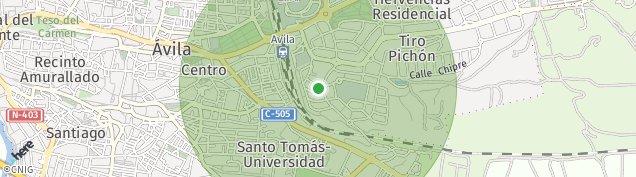 Mapa Ávila