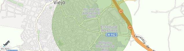 Mapa Colmenar Viejo