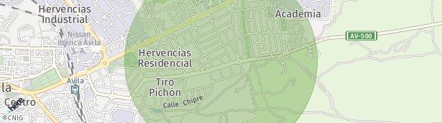 Mapa Vicolozano