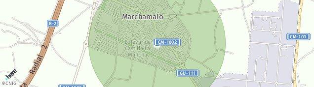 Mapa Marchamalo