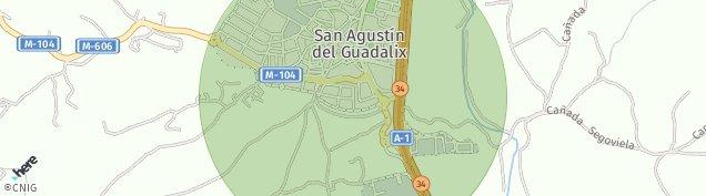Mapa San Agustín del Guadalix