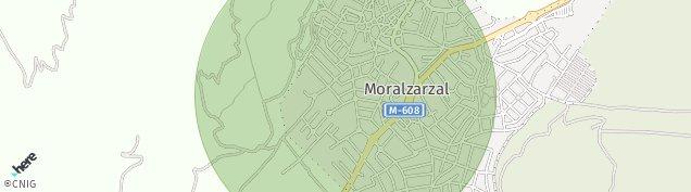 Mapa Moralzarzal