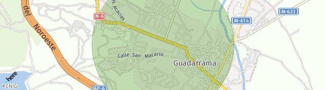 Mapa Guadarrama